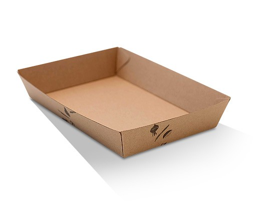 Tray 5 / Brown Corrugated Kraft / Print