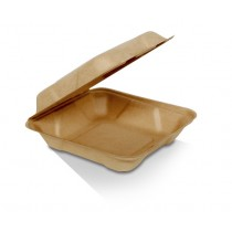 "8"" bamboo clamshell"