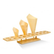 Wooden cone stand 20 holes