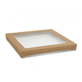 Kraft Catering Tray Lid - Large
